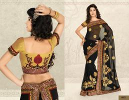 Bollywood Designer Saree neu
