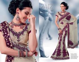 Bollywood Designer lehengas Saree(Sari)