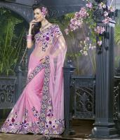 Foto 2 Bollywood Elegantes Luxus Sari Neu