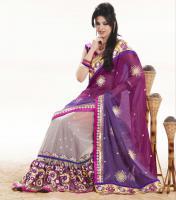 Bollywood Half   Designer Sari