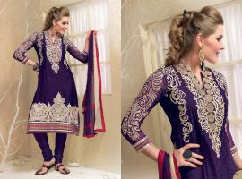 Bollywood Herbst -Fashion Salwar Kameez Stoff Unstitched