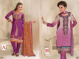 Bollywood Herbst -Fashion Salwar Kameez Stoff neu Unstitched