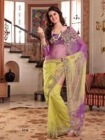 Bollywood Hochzeit Party Kollektion Saree
