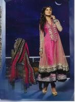 Foto 2 Bollywood Luxus Salwar mit Handarbeit