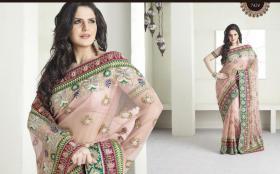 Bollywood Luxus Sari neu