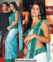 Bollywood Schauspieler aus Indien - Katrina Kaif sari (Saree)