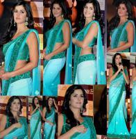 Foto 3 Bollywood Schauspieler aus Indien - Katrina Kaif sari (Saree)