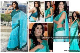 Foto 4 Bollywood Schauspieler aus Indien - Katrina Kaif sari (Saree)