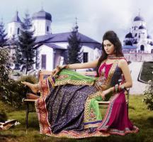 Bollywood salwar Kameez Unstitched stoff set