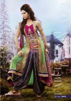 Foto 2 Bollywood salwar Kameez Unstitched stoff set