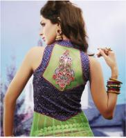 Foto 4 Bollywood salwar Kameez Unstitched stoff set