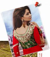 Foto 3 Bollywood salwar Kameez Unstitched stoff set Neu