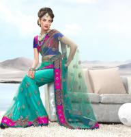 Foto 2 Bollywood   LUXUS FASHION Net Sari