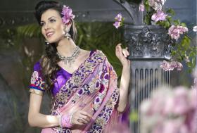 Foto 2 Bollywood  saree Designer Abendmode Young Fashion