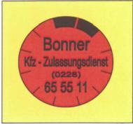 Bonner Kfz Zulassungsdienst Pütz