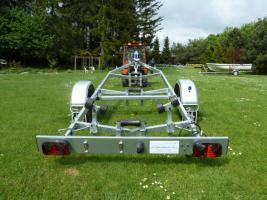 Foto 3 Bootstrailer, Sliptrailer, Bootsanhänger, Kipptrailer, Marlin 750kg NEU