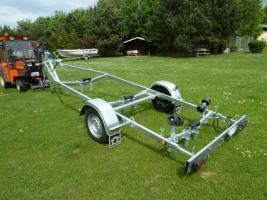 Foto 4 Bootstrailer, Sliptrailer, Bootsanhänger, Kipptrailer, Marlin 750kg NEU