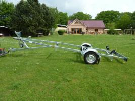 Foto 5 Bootstrailer, Sliptrailer, Bootsanhänger, Kipptrailer, Marlin 750kg NEU