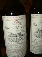 Bordeauxwein Chateau Haut Rozier v 1999