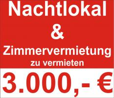 Bordell - Nachtcafe (Tabledance) & Gewerbliche Zimmervermietung im PLZ Raum 56… zu vermieten.