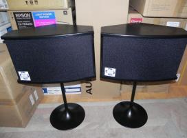 Foto 2 Bose 901 Serie VI Lautsprecher in schwarz mit Originalständern