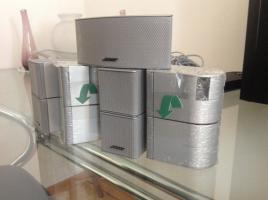 Bose Lifestyle 48 Serie IV Silber komplet sistem 5.1