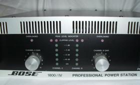 Bose komplett Anlage PA, mit mächtig viel Dampf für Räume bis ca. 200 qm.....