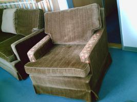 Foto 3 Braun und Bequem 3 Sitzer Sofa und Sessel 0€, Sofort Nehmen :)