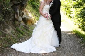 Brautkleid 42 neuwertig