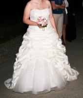 Foto 7 Brautkleid 42 neuwertig