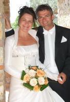 Brautkleid im Audrey Hepurn Stil