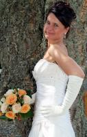 Foto 3 Brautkleid im Audrey Hepurn Stil
