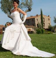 Foto 4 Brautkleid im Audrey Hepurn Stil
