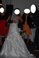 Foto 4 Brautkleid Hochtzeitskleid von Valerie Gr.34/36 Elfenbein Pailetten Strass