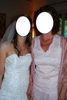 Foto 5 Brautkleid Hochtzeitskleid von Valerie Gr.34/36 Elfenbein Pailetten Strass