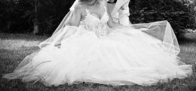 Foto 4 Brautkleid Hochzeitskleid Corsagenkleid WIE NEU 32-38 XS S M