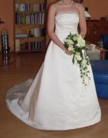 Brautkleid Hochzeitskleid Gr. 36 champagnerfarben