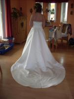 Foto 3 Brautkleid Hochzeitskleid Gr. 36 champagnerfarben