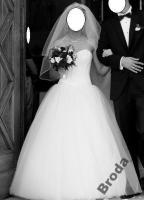 Foto 2 Brautkleid Hochzeitskleid mit Swarovski Steine Gr. 36/38 Wunderschön!!!