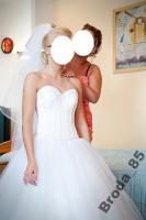 Foto 5 Brautkleid Hochzeitskleid mit Swarovski Steine Gr. 36/38 Wunderschön!!!