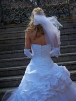 Brautkleid mit Kosage