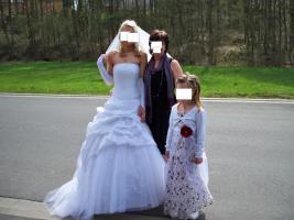 Foto 2 Brautkleid mit Kosage