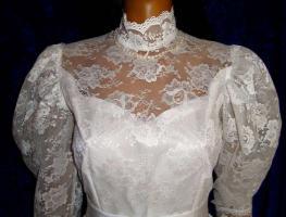Foto 2 Brautkleid Tasche Handschuhe Haarschmuck 38 - 40 LILLY  Artikelzustand: Gebraucht wie Neu