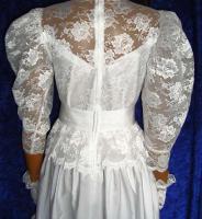 Foto 3 Brautkleid Tasche Handschuhe Haarschmuck 38 - 40 LILLY  Artikelzustand: Gebraucht wie Neu