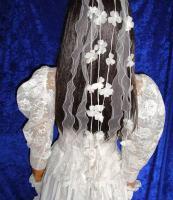 Foto 6 Brautkleid Tasche Handschuhe Haarschmuck 38 - 40 LILLY  Artikelzustand: Gebraucht wie Neu