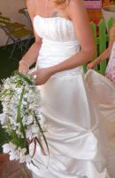 Brautkleid aus echter Seide!!