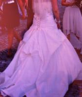 Brautkleid gr38 mit Reifrock
