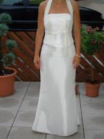 Brautkleid ivory eng Größe 36