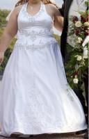 Brautkleid weiß Gr.46
