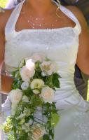 Foto 4 Brautkleid in einem zarten Elfenbein